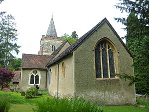 Nutfield, Surrey - Image: St Peter and St Paul's Church, Church Hill, Nutfield (NHLE Code 1377573)