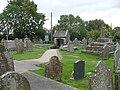 St Sannan's churchyard and lych gate, Bedwellty - geograph.org.uk - 605584.jpg