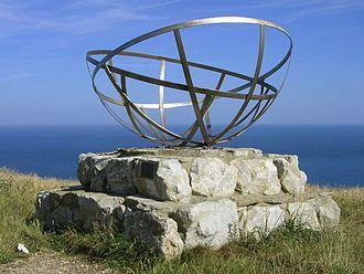 Telecommunications Research Establishment - Radar research memorial at St Aldhelm's Head near Worth Matravers, unveiled by Sir Bernard Lovell