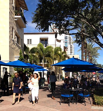 New Urbanism - Beach Drive, St. Petersburg, Florida