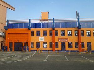 Stadionul Ceahlăul - Image: Stadionul Ceahlăul exterior (2)