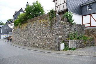 Simmern - Remnants of the mediaeval town wall