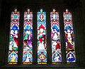 Stained glass window, St Mary's Church, Iwerne Minster - geograph.org.uk - 908214.jpg