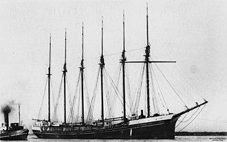 Oregon Pine (schooner) - Image: State Lib Qld 1 140215 Dorothy H. Stirling (ship)