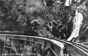Tablelands railway line, Queensland - Stoney Creek bridge