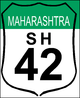 State Highway 42 shield}}