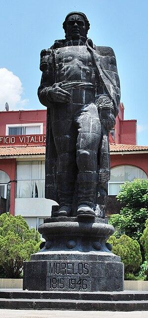 English: Statue of Jose Maria Morelos in Parqu...