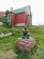 Statue and House Qarqortoq Greenland.jpg