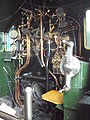 Steam locomotive backhead at NRM York - DSC07778.JPG