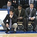 Steve Alford and assistants in 2009.jpg