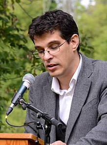Steven Galloway at the Eden Mills Writers' Festival in 2014