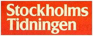 Stockholms-Tidningen - Image: Stockholms Tidningen logo