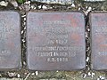 Stolperstein Amalie Rosenthal, 1, Brückenstraße 2, Mörfelden, Mörfelden-Walldorf, Landkreis Groß Gerau.jpg