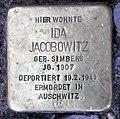 Stolperstein Anzengruberstr 10 (Neukö) Ida Jacobowitz.jpg