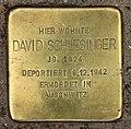 Stolperstein Bartningallee 3 (Hansa) David Schlesinger.jpg