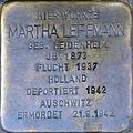 Stolperstein Köln, Martha Leffmann (Flandrische Straße 18).jpg