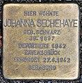 Stolperstein Konstanzer Str 4 (Wilmd) Johanna Sechehaye.jpg