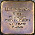 Stolperstein Salzburg, Lech Manczak (Dreifaltigkeitsgasse 3).jpg