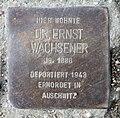 Stolperstein Sensburger Allee 23 (Westend) Ernst Wachsner.jpg