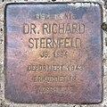 Stolperstein Wetzlarer Str 23 (Wilmd) Richard Sternfeld.jpg