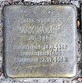Stolperstein Willmanndamm 6 (Schöb) Max Wolff.jpg