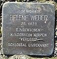 Stolperstein Windeck Kohlberg Eisenstraße Helene Weber.jpg