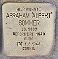 Stolperstein für Abraham Sommer (Heidelberg).jpg