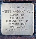 Stolperstein für Antoni Barbera Pla 1670-Peralta.jpg