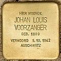 Stolperstein für Johan Louis Voorzanger (Den Haag).jpg