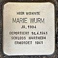 Stolperstein für Marie Wurm.jpg