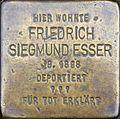 Stolpersteine Köln, Friedrich Siegmund Esser (Himmerichstraße 2).jpg