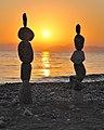 Stone Balancing Sunset.jpg