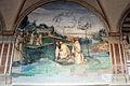 Storie di s. benedetto, 15 sodoma - Come Benedetto fa tornare nel manico uno roncone che era caduto nel fondo di un lago 01.JPG