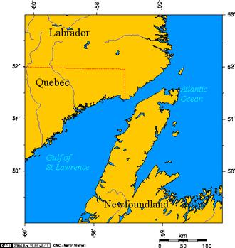 Strait of Belle Isle - Strait of Belle Isle