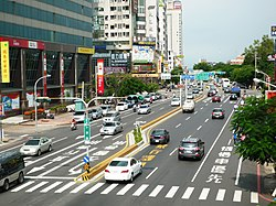 Street View of Saiodong road,Tainan.jpg