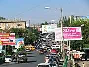 Street scene in Osh city
