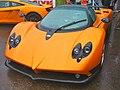 Streetcarl Pagani Zonda orange (6279603533).jpg