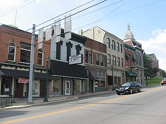 Downtown Wabash Historic District - Streetside on Wabash, May 2012