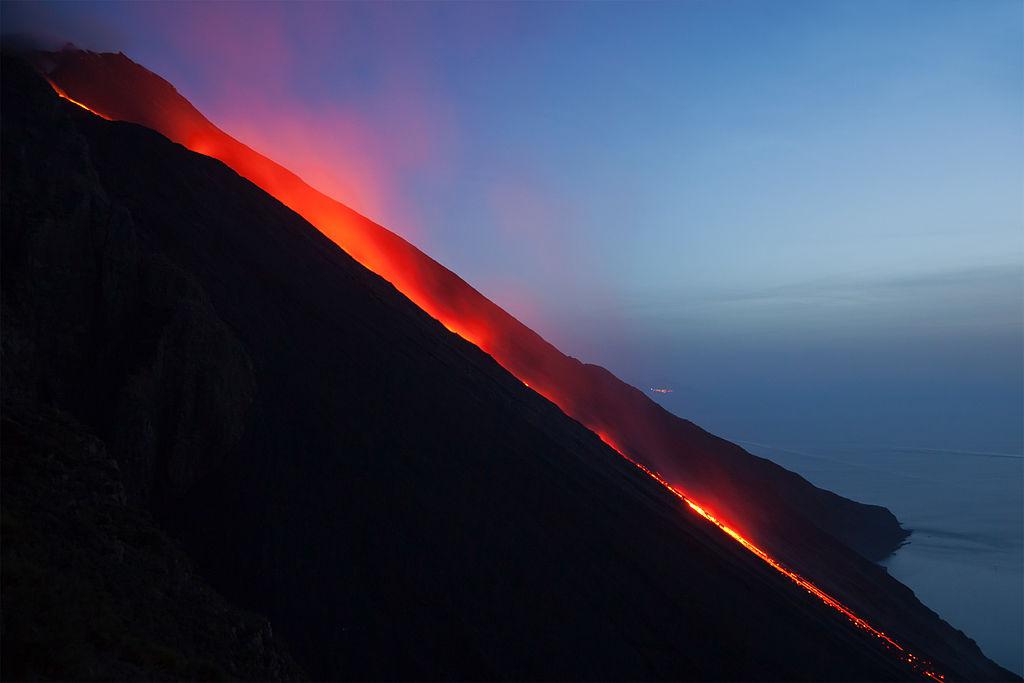 Stromboli sciara del fuoco 2014-09-19