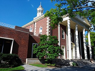 Students' Building (Vassar College) - The Students' Building in 2014