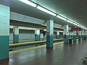 Suburban Station - Regional Rail platforms