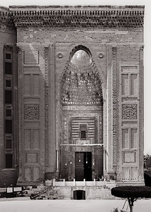 Mosque-Madrassa of Sultan Hassan - Mosque and Madrasa of Sultan Hasan: Main Entrance