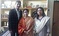 Suman Pokhrel, Pratibha Ray and Adyasha Das (45472393682).jpg
