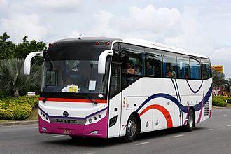 Sunlong Bus - Sunlong SLK6126 in Pattaya