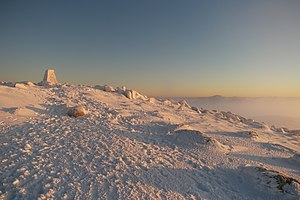 Sunrise views from the summit of Mount Kosciuszko, Kosciuszko National Park 56.jpg