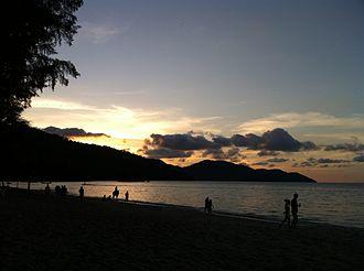 Batu Ferringhi - Sunset at Batu Ferringhi