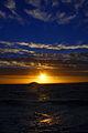 Sunset over Oresund at Helsingborg 2013-12-01 2.jpg
