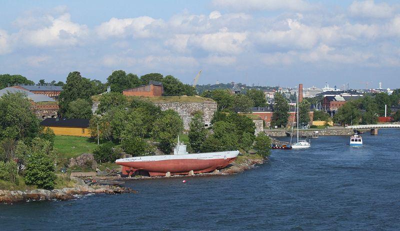 Ilhas nos arredores de Helsinque