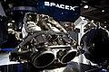 SuperDraco rocket engines at SpaceX Hawthorne facility (16789102495).jpg