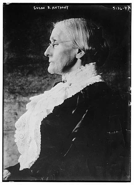 File:Susan B. Anthony facing left.jpg